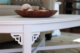 Painted Wood Coffee Table Chalk Paint Furniture Fail Checking In With Chelsea