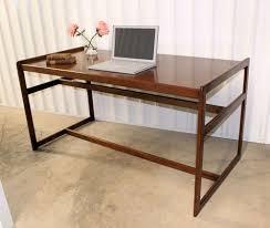 Modern Partners Desk Modern Mid Century Teak Partners Desk Library Table
