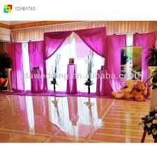 wedding backdrop on stage ida new large stage cloth backdrop and drapery for wedding