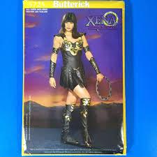 butterick halloween costumes butterick 5725 xena warrior princess costume sewing pattern xs