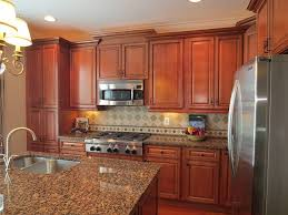 Traditional Kitchen Cabinets PreAssembled  Ready To Assemble - Medium brown kitchen cabinets