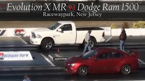 Mid Size Dodge Pickup Evo X Mr Vs Dodge Ram 1500 Youtube