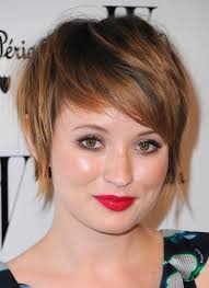 short hair for round face short haircuts for round faces
