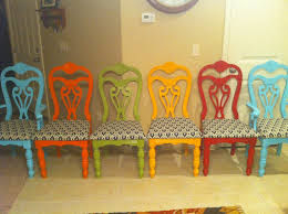 Different Color Dining Room Chairs Colorful Dining Chairs Dining Table Design Ideas Electoral7