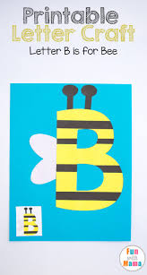 free letter b crafts b is for bee fun with mama