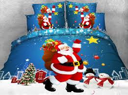 Double Christmas Duvet Aliexpress Com Buy S X U0027mas Series 4pcs Twin Double Queen Super