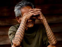 tattooed seniors who look totally bad whimsy has no age guff