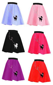 poodle skirt halloween costume 50 u0027s felt poodle skirt more colors candy apple costumes