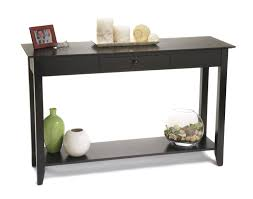 tall black console table black console table
