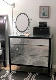 Mirrored Dressers And Nightstands East 7 Shauna U0027s Diy Mirrored Dresser Apartment Therapy