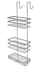 Over The Door Bathroom Organizer by Chrome 3 Tier Hanging Over The Door Shower Caddy Cubicle Tidy