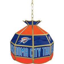 trademark global oklahoma city thunder nba 16 in nickel hanging