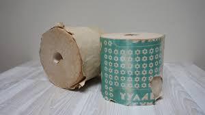 soviet toilet paper set of 2 rolls vintage retro ussr funny