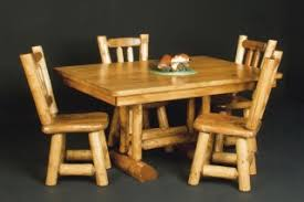 rustic log dining room tables log dining room furniture rustic table and dining room decor