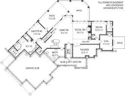 chestatee river house plan builders floor plans house plans