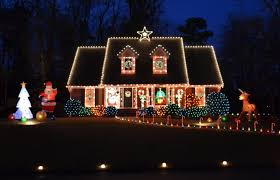 outdoor christmasght displays christmast whitets on