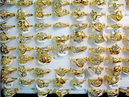 gold nice rings images Free ship wholesale vogue australia rhinestone women 39 s nice gold jpg