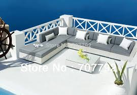 White Rattan Sofa White Garden Rattan Furniture Promotion Shop For Promotional White