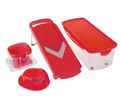 genius speed slicer plus with storage container page 1 u2014 qvc com