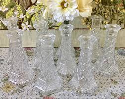 Vintage Vases Wedding Wedding Bud Vase Etsy