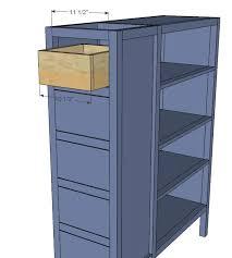 Dresser With Bookshelves by Ana White Dresser Bookshelf Support For Cabin Bunk System Diy
