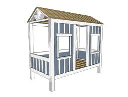 Plans To Build A Cabin Ana White Cabin Bed By Jen Woodhouse Diy Projects