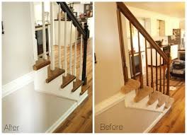 Home Design App Stairs by Carpet To Wood Stair Makeover Reveal Simply Swider