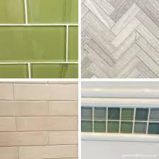 Green Tile Kitchen Backsplash Picking Tile For The Kitchen Backsplash Green With Decor