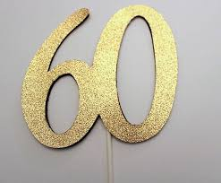 60 cake topper birthday cake toppers 60th image inspiration of cake and