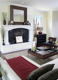 Living Room Decor Mirrors 25 Best Mirror Above Fireplace Ideas On Pinterest Fake