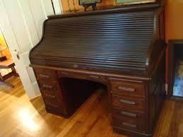 Computer Desk Oak Small Roll Top Desk Oak U2014 All Home Ideas And Decor Small Roll