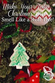 your tree smell like a real tree