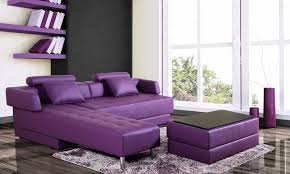 canapé violet convertible canapé d angle réversible et convertible groupon shopping