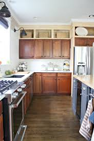 bulkhead over kitchen cabinets kitchen decoration