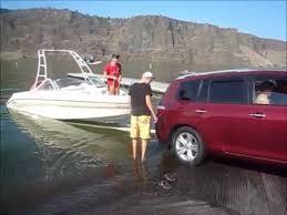 toyota highlander towing toyota highlander boat launch