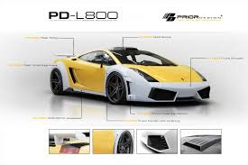 lamborghini custom body kits lamborghini gallardo pd l800 widebody by prior design lexus