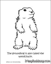 groundhog coloring pages printable images 2016 2017 b2b fashion