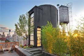 amazing space rooftop watertank conversion awesome architecture