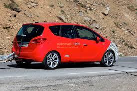 Spyshots 2014 Opel Meriva Facelift Autoevolution