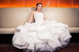 katniss everdeen wedding dress costume bonkyubombgirl studios