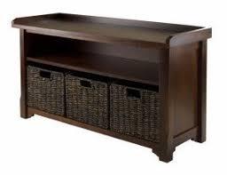 oak storage benches foter