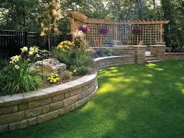 Landscape Ideas For Sloping Backyard Sloped Backyard Landscaping Pictures Pool Design Ideas Good For A