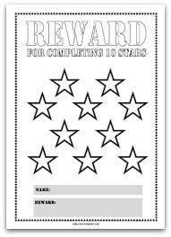 25 reward chart template ideas chore