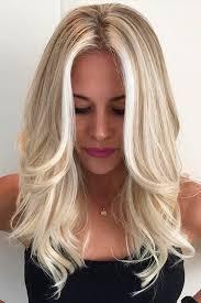 platinum blonde hair with brown highlights trendy hair highlights pretty shades of platinum blonde hair