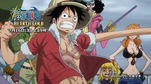 one piece crunchyroll to release one piece heart of gold the one piece podcast