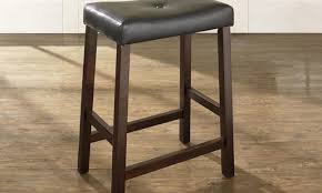 Outdoor Bar Stools Cheap Noticeable Ideas Harmonize Backless Leather Bar Stools Tags