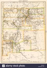 New Mexico Maps by Map Of New Mexico Territory 1870s Stock Photo Royalty Free Image