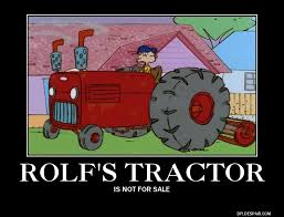 Tractor Meme - rolf s tractor ed edd n eddy know your meme