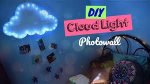 Diy Lighting Ideas For Bedroom Diy Cloud Light Photowall Lighting Ideas For Your Bedroom Youtube