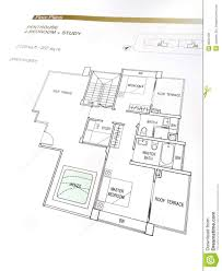 penthouse floor plans stock photo image 9634120
